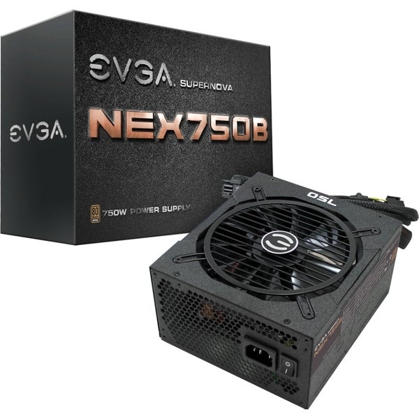 EVGA SuperNOVA B1 750W 80Plus Bronze Power Supply Unit (110-B1-0750-V