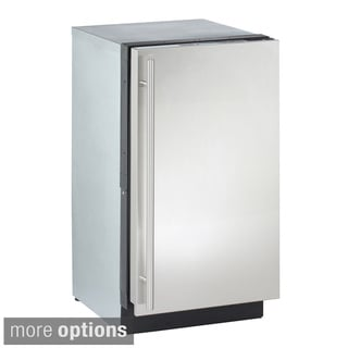 Clear 18-inch Stainless Steel Ice Machine