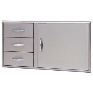 Blaze 39-inch Access Door and Triple Drawer Combo
