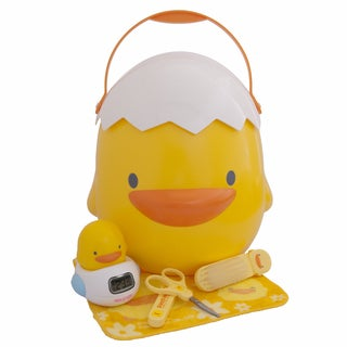 Piyo Piyo Bathing Baby Gift Set in Yellow