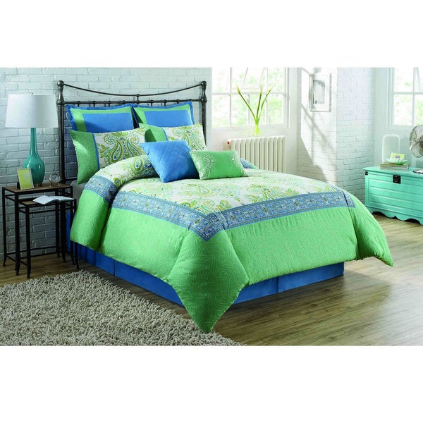 Soho New York Home Viola 8-piece Comforter Set
