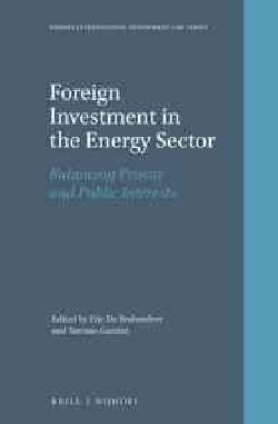 Foreign Investment in the Energy Sector: Balancing Private and Public Interests (Hardcover)