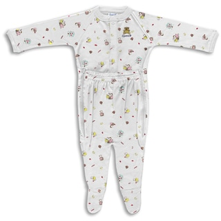Spencer's Girls' Printed Zipp Leg Sleeper in Picking Apples