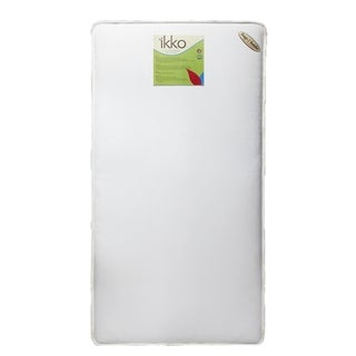 Ikko 2-in-1 Coil Crib Mattress in White