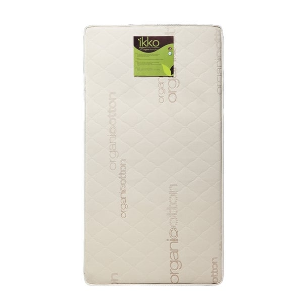 Ikko Organic 2-in-1 Foam Plus Crib Mattress