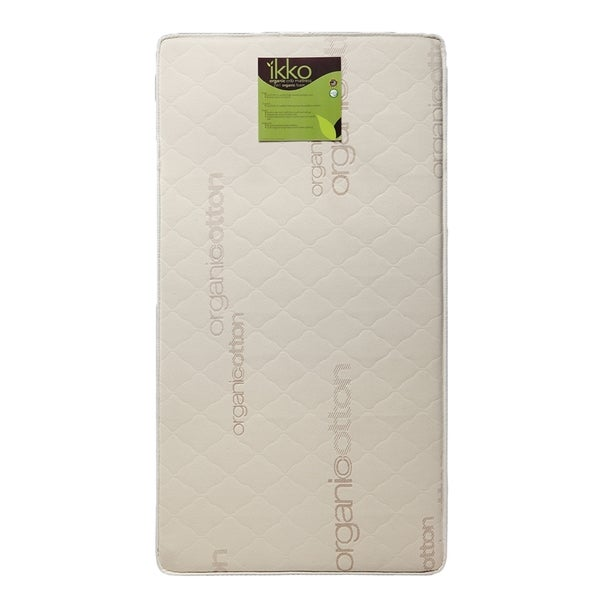 Ikko Organic 2-in-1 Foam Crib Mattress
