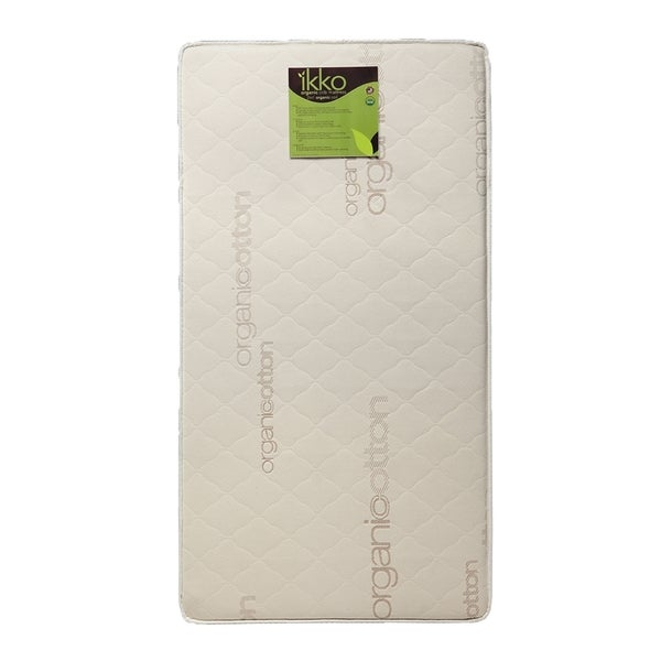 Ikko Organic 2-in-1 Coil Crib Mattress