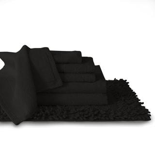 Cotton 7-piece Matching Towel and Bath Rug Set
