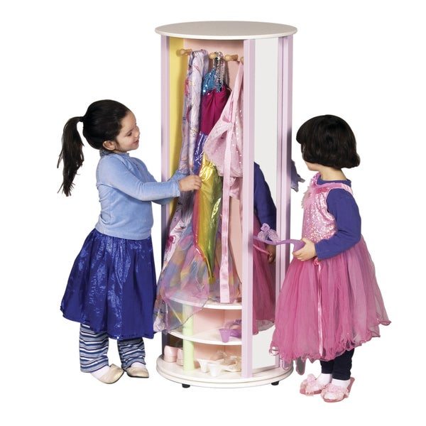 Guidecraft Pastel Dress Up Carousel