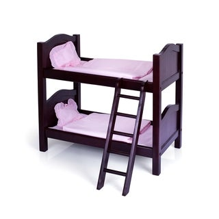 Guidecraft Espresso Doll Bunk Bed