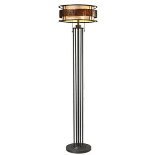 Z-Lite 'Milan' Java Bronze 3-light Floor Lamp