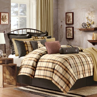 Woolrich Oak Harbor 3-piece Comforter Set with Optional Euro Sham Sold Separately