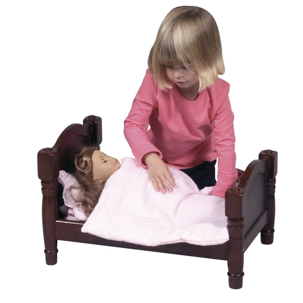 Guidecraft Espresso Doll Bed