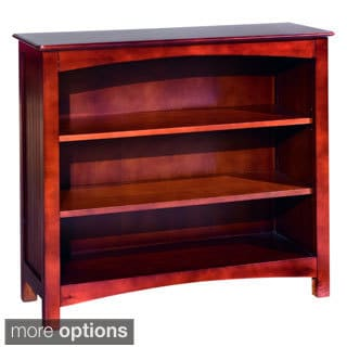 Wakefield Hardwood 3-Shelf Bookcase
