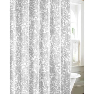 Tommy Bahama Island Memory Cotton Shower Curtain