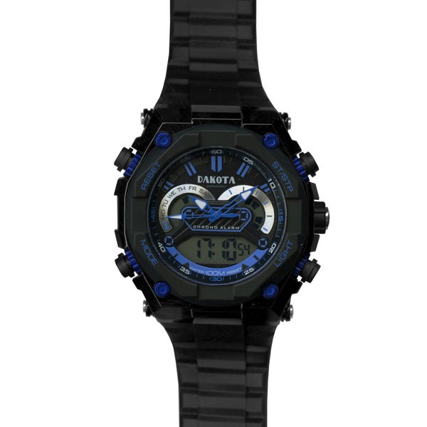 Dakota Men's Black Tough Ana-Digi Watch