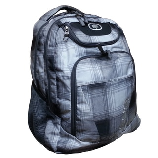 Ogio Grey Checker Ombre 17.3-inch Laptop Backpack