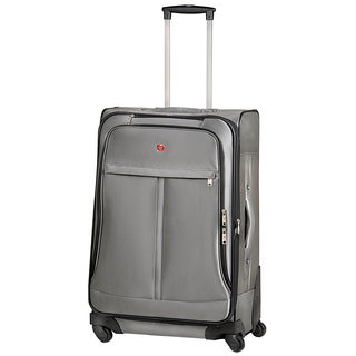 SwissGear Swiss Alps Collection 24-inch Medium Expandable Spinner Upright Suitcase