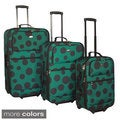 American Flyer Tokyo Collection Lightweight Explandable 3-piece Luggage Set