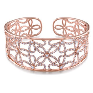 Miadora 14k Rose Gold 2 2/5ct TDW Diamond Bracelet (G-H, SI-SI2)