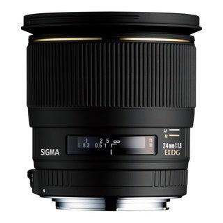 Sigma Wide Angle 24mm f/1.8 EX Aspherical DG D Macro Autofocus Lens for Sony Alpha and Minolta Maxxum