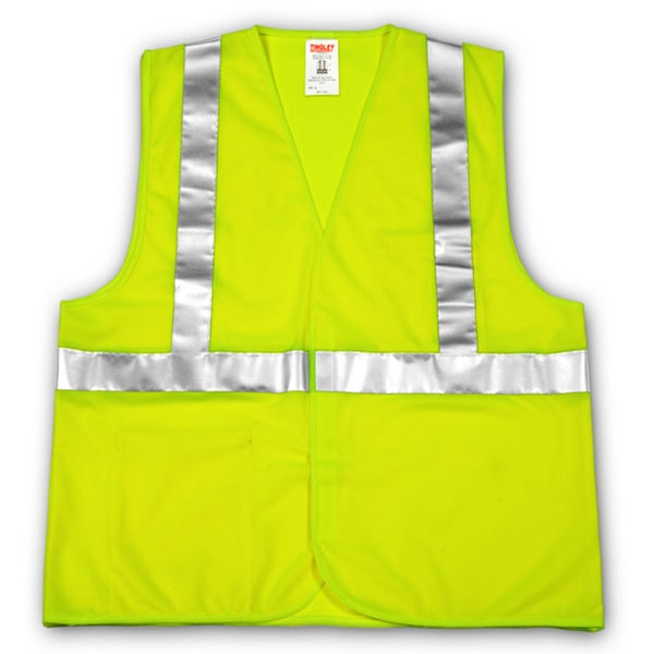Class 2 Fluorescent Yellow/ Green Reflective Vest