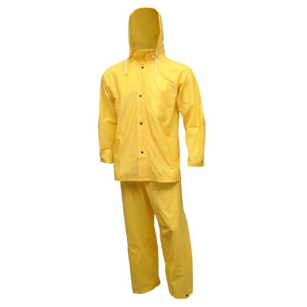Tuff-Enuff Gold 3-piece Rain Suit