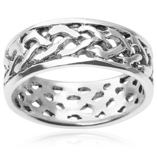 Tressa Collection Sterling Silver Band
