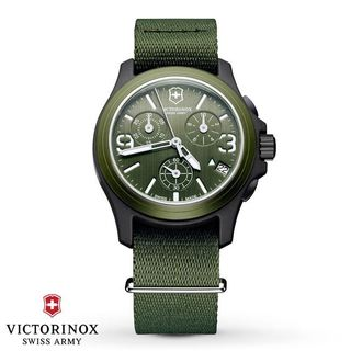 Swiss Army Men's 241531 Original Chronograph Olive Green Watch