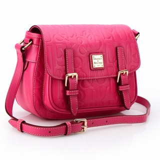 Dooney & Bourke Small Safari Pink Leather Crossbody