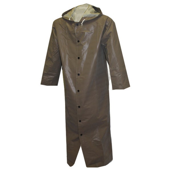 Men's Magnaprene Olive Drab 60-inch Neoprene-coated Protective Jacket