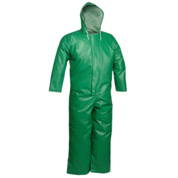 Safetyflex Green Coveralls
