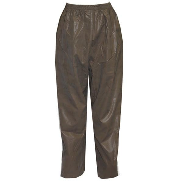 Magnaprene Olive Drab Plain Front Pants