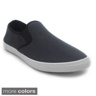 Blue Men's 'M Fild' Suede Slip-on Sneakers