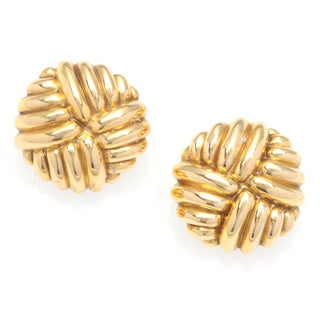 Chimento 18k Yellow Gold Estate Clip-on Earrings