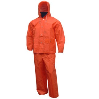 Men's Comfort-Tuff Blaze Orange 2-piece Protective Suit