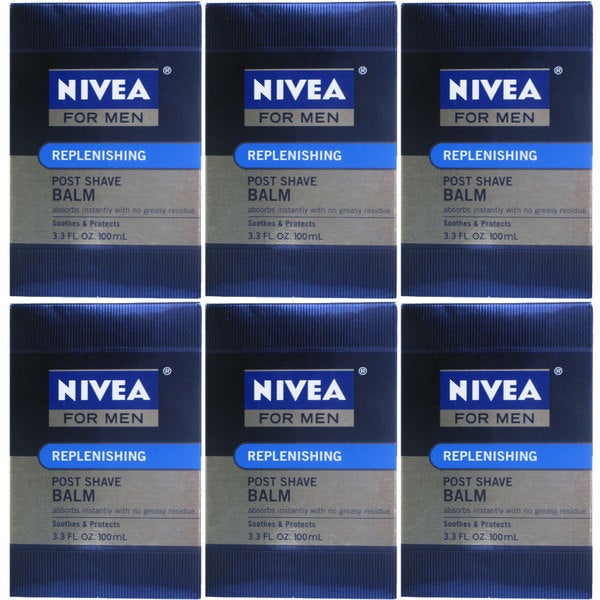 Nivea for Men Replenishing 3.3-ounce Post-shave Balm (Pack of 6)