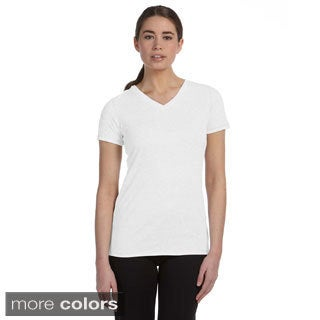 Women's Performance Triblend V-neck T-shirt