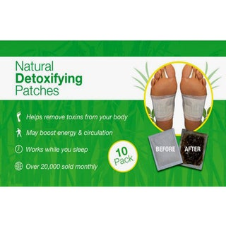 Natural 10-pack Detoxifying Patches