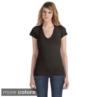 Alternative Women's Cotton Jersey V-neck T-shirt
