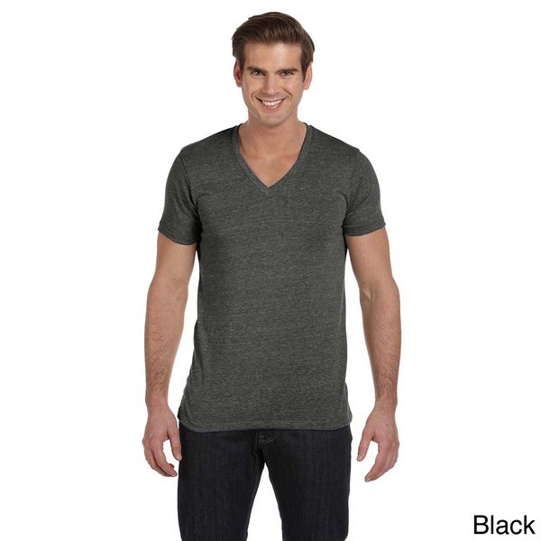 Alternative Men's Boss V-neck T-shirt 13039225