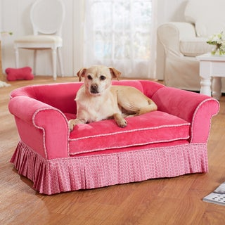 Enchanted Home Pet Pink Savannah Sofa Bed