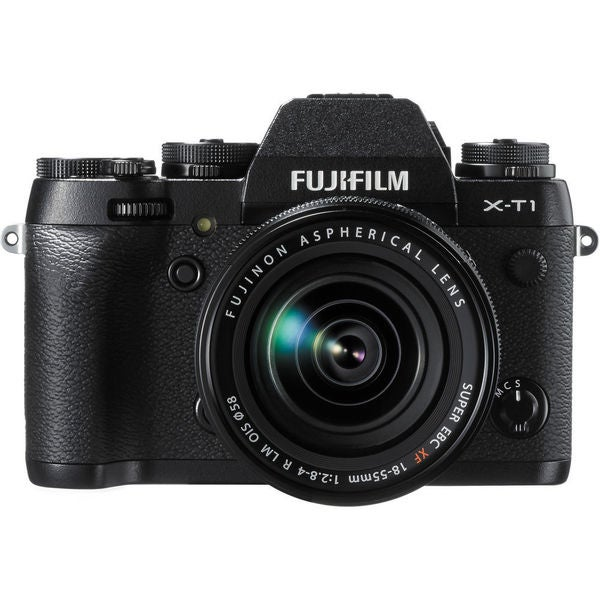 FujiFilm X-T1 Mirrorless Digital Camera Body with XF 18-55mm f/2.8-4 R LM Lens