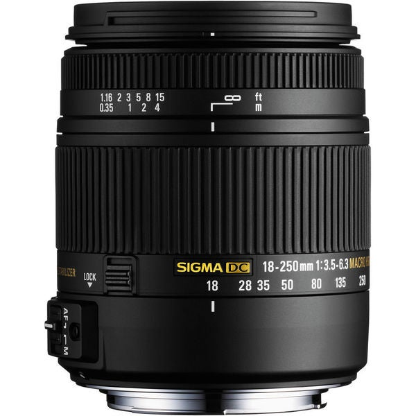 Sigma 18-250mm F3.5-6.3 DC Macro HSM for Sony Alpha and Minolta