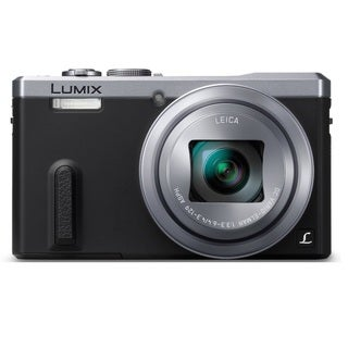 Panasonic LUMIX DMC-ZS40 Silver Digital Camera