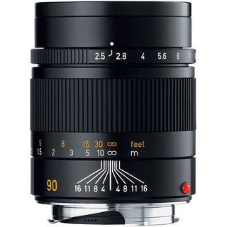 Leica Summarit-M 90mm f/2.5 Manual Focus Telephoto Lens 6 Bit