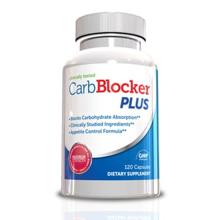 Carb Blocker Plus White Kidney Bean Extract and Garcinia Cambogia (120 Capsules)