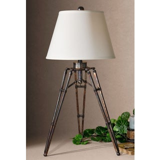 Uttermost Tustin 3-leg Bronze Table Lamp