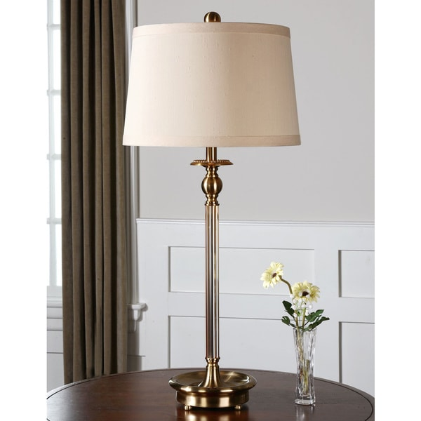 Uttermost Vairano Brass Table Lamp