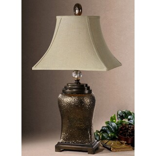 Easton Textured Bronze Table Lamp